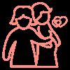 pareja femenina